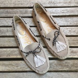 Sam Edelman Leather Tassel Loafers Moccasins